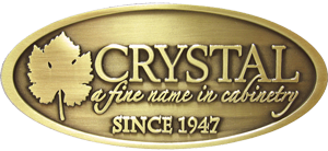 Logo from Crystal Cabinetry - a Nelson-Dye preferred vendor.
