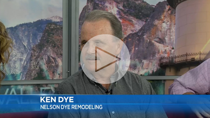 Ken Dye, owner of Nelson-Dye Remodeling on Central Valley Talk Today
