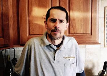 Nelson-Dye Remodeling team member Justin Ware