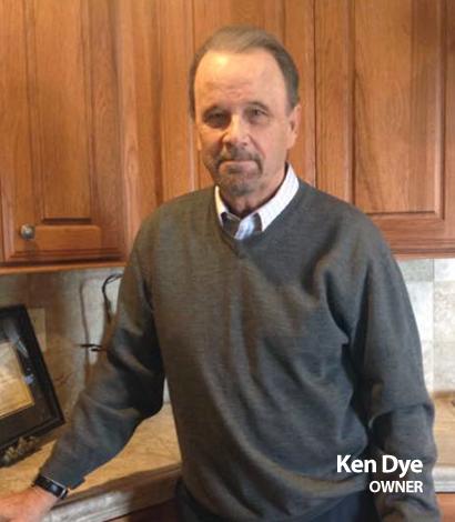 Ken Dye - Owner of Nelson-Dye Remodeling