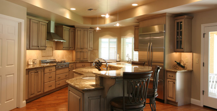 Kitchen remodeling projects - Killion family kitchen view.