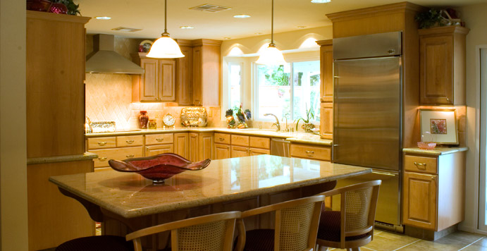 Kitchen remodeling projects - Graham home