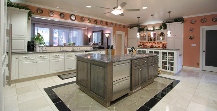 Kitchen remodeling projects - Jacobson home