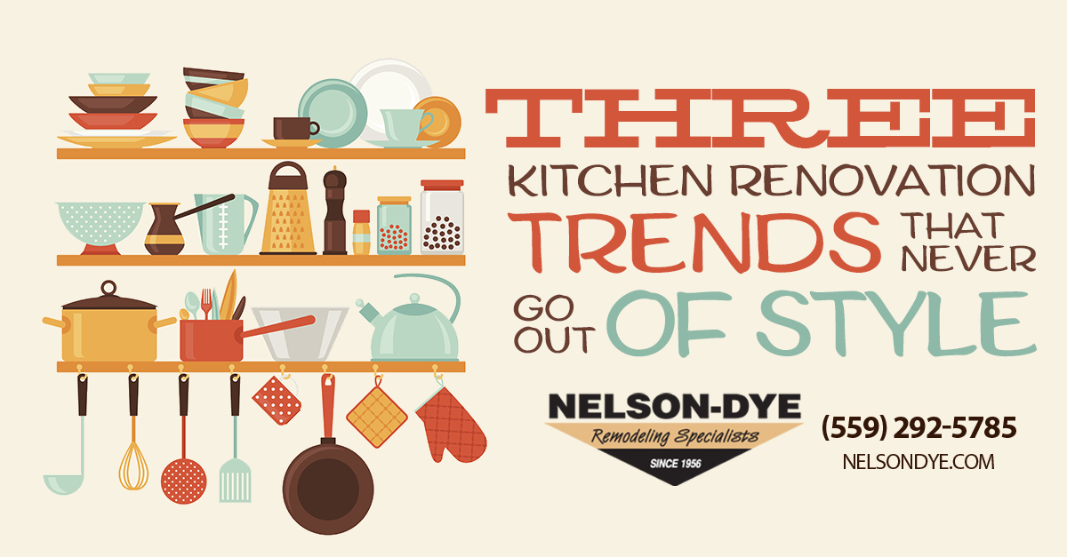 kitchen renovation trends that never go out of style