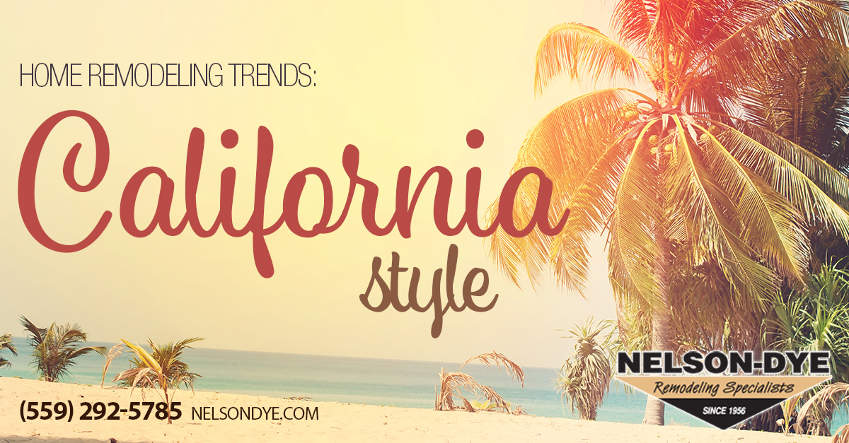 home remodeling trends California style